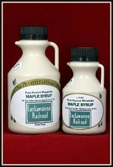 Lackawanna Railroad Maple Syrup 2