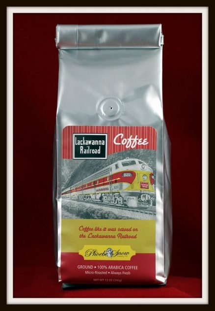 Lackawanna Railroad Coffee - DL&WRRHS 1
