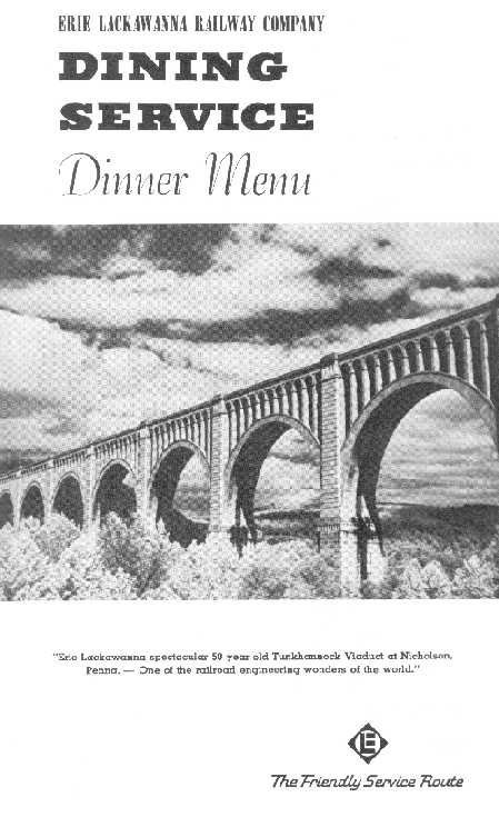 Authentic Dining Car Items