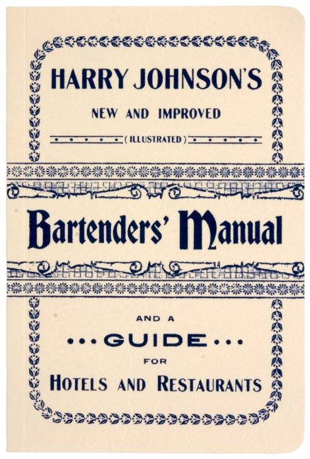 Harry Johnson's Bartenders' Manual 1