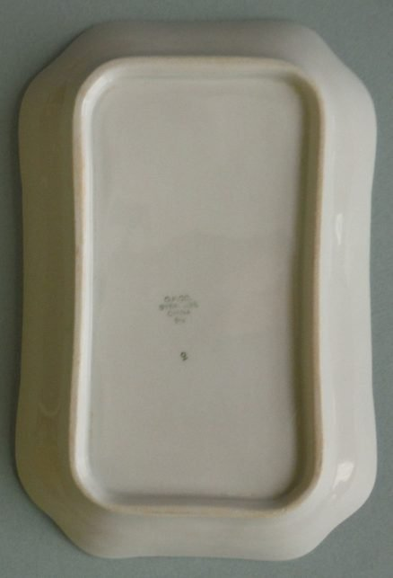 "New York Central DeWitt Clinton 8 1/2"" X 5 1/2 Relish Tray 2"