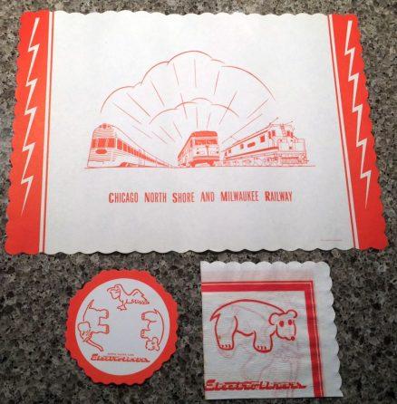 CNS&M Electroliner Tavern Lounge Paper Set 1