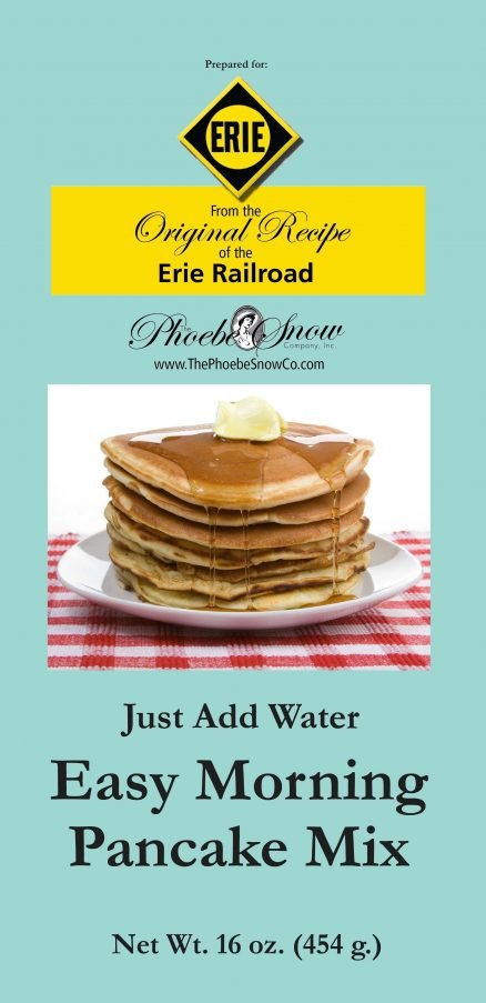 Erie Railroad Easy Morning Pancake Mix 1