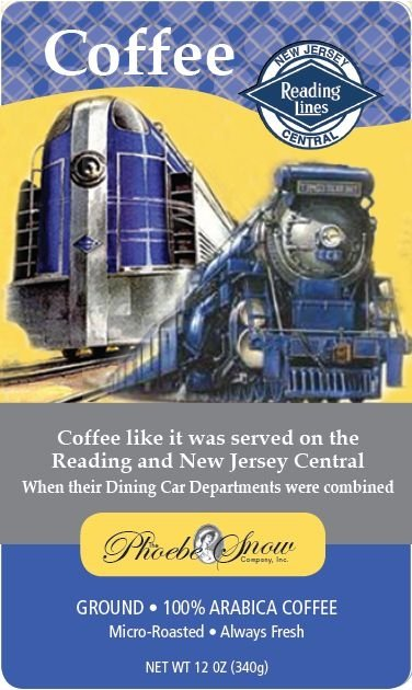 Reading Company / New Jersey Central Coffee 1
