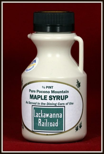 Lackawanna Railroad Maple Syrup 1