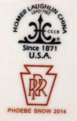 Pennsylvania Railroad Gotham Service Plate 2