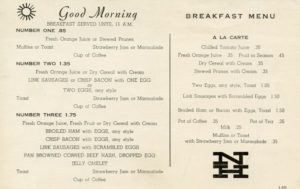 Menu Medley - New Haven 59