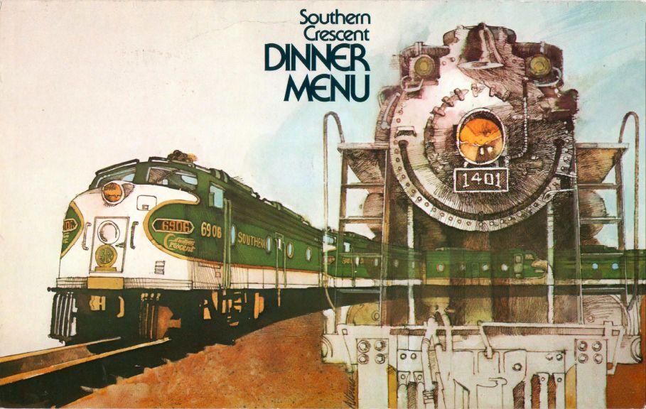 Menu Medley - Southern Railway 7