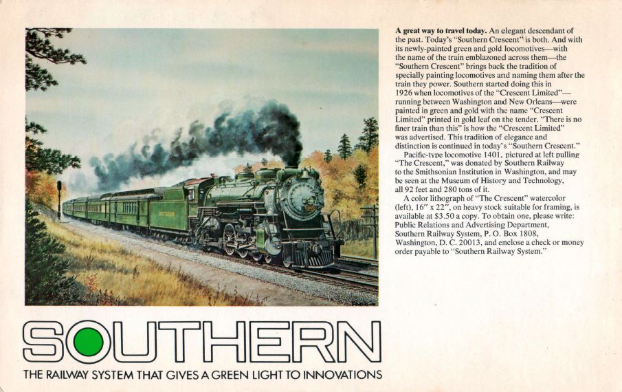 Menu Medley - Southern Railway 9