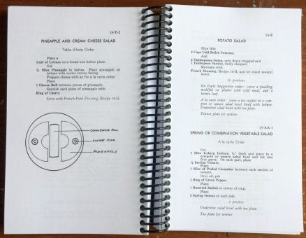 New Haven Railroad Standard Recipe Book 3