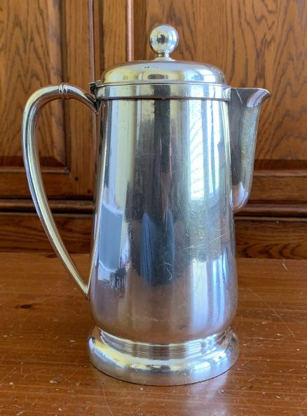 Lackawanna Railroad 54 oz Silver Water Pitcher 1