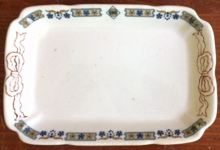 "Erie Susquehanna 9"" X 6"" Relish Tray 1"