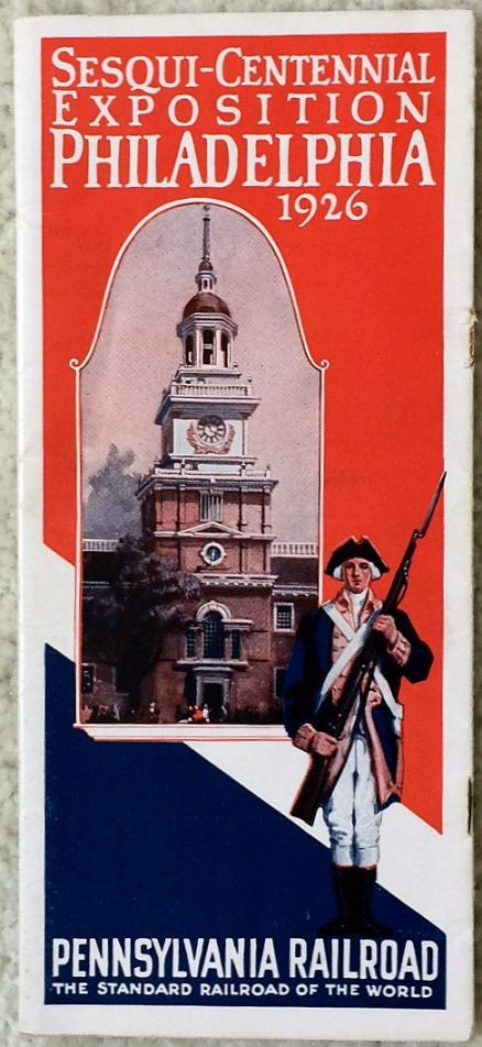 Pennsylvania Railroad Sesqui-Centennial Exposition Philadelphia 1926 1
