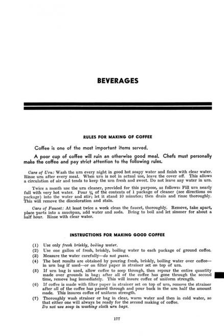 Pennsylvania Railroad Dining Car Department Cooking and Service Instructions 4