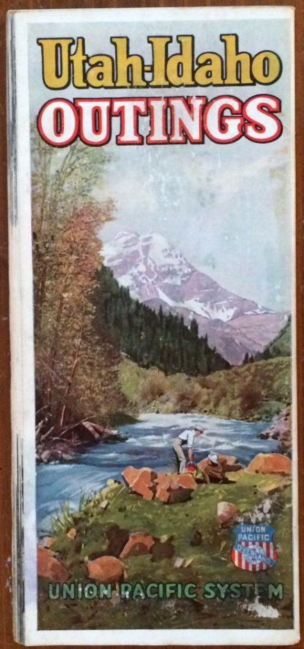 Union Pacific - Utah-Idaho Outings 1923 1