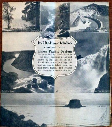 Union Pacific - Utah-Idaho Outings 1923 4