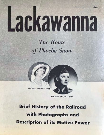 Lackawanna - Brief History of the Railroad with Photographs and Description of its Motive Power - 1944 1
