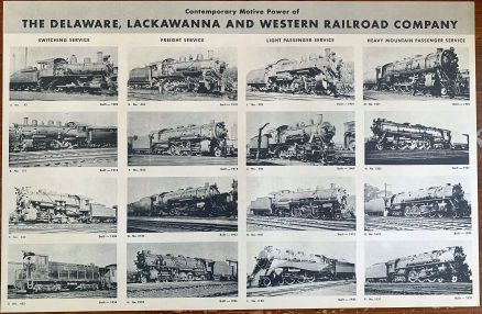 Lackawanna - Brief History of the Railroad with Photographs and Description of its Motive Power - 1944 2
