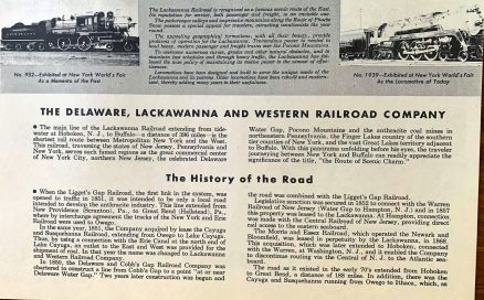 Lackawanna - Brief History of the Railroad with Photographs and Description of its Motive Power - 1944 3