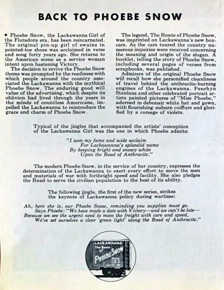 Lackawanna - Brief History of the Railroad with Photographs and Description of its Motive Power - 1944 5