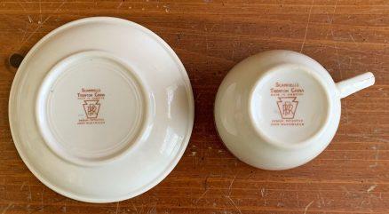 PRR Purple Laurel Cup & Saucer